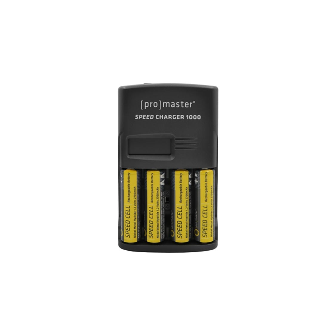 Promaster Speed Charger 1000 with 4x AA 2700mah Batteries