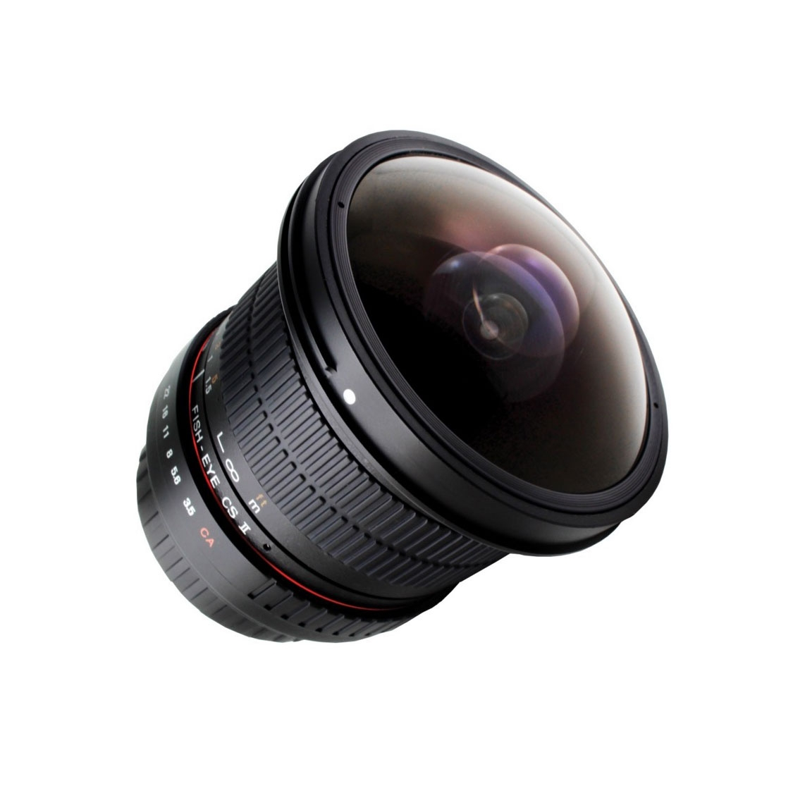 Rokinon 8mm HD F3.5 Lens for Micro 4/3 Mount