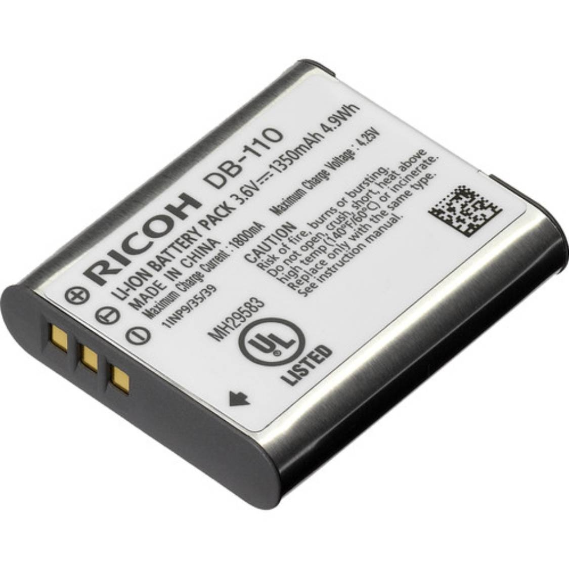 Ricoh DB-110 Battery for GR III