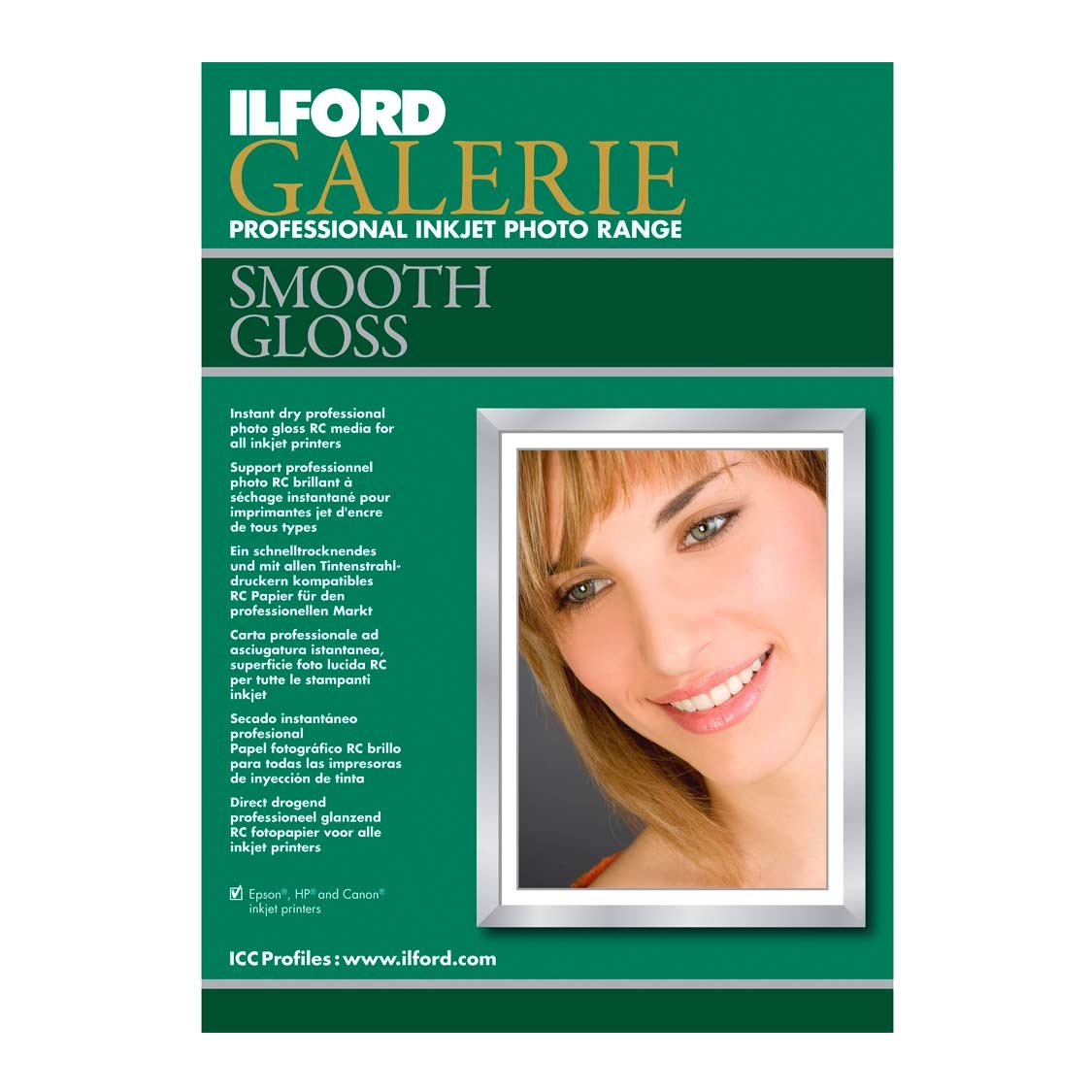 Ilford Galerie 4x6 Smooth Gloss (30 sheets)