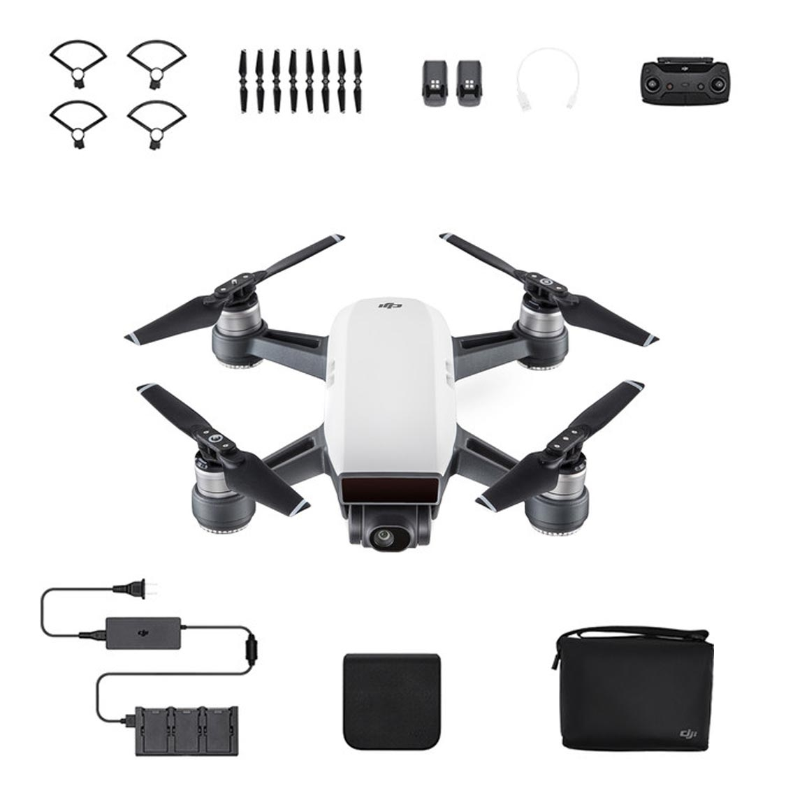 DJI Spark Drone Camera Fly More Combo (white)