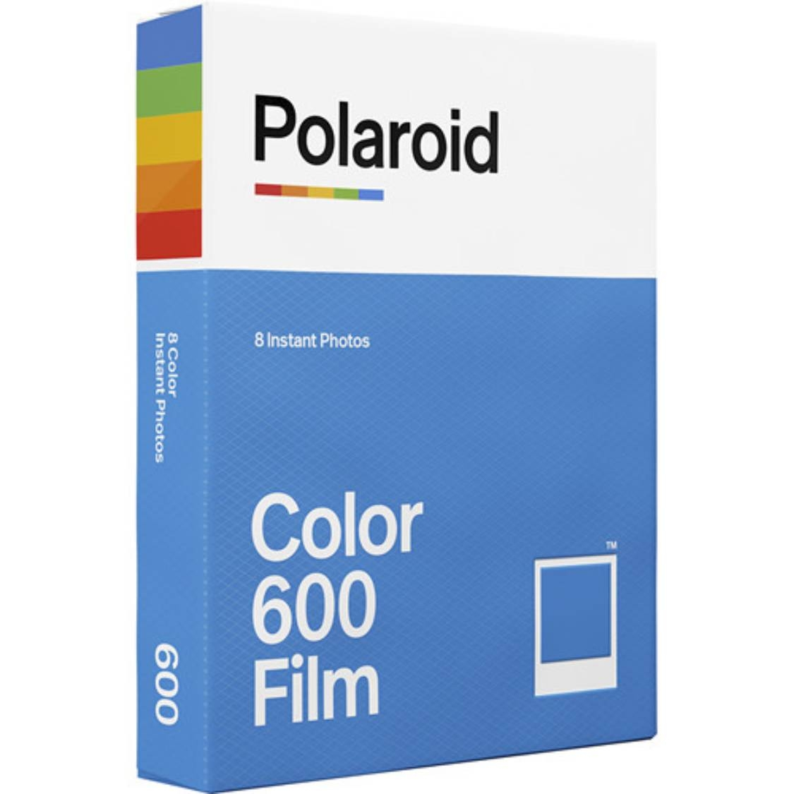 Polaroid 600 Color Film (White Frame)