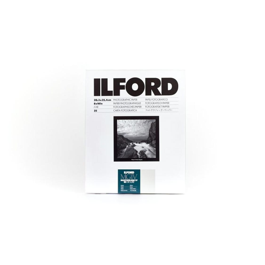 Ilford Multigrade IV Deluxe 5x7-inch Pearl Paper (100 sheets)
