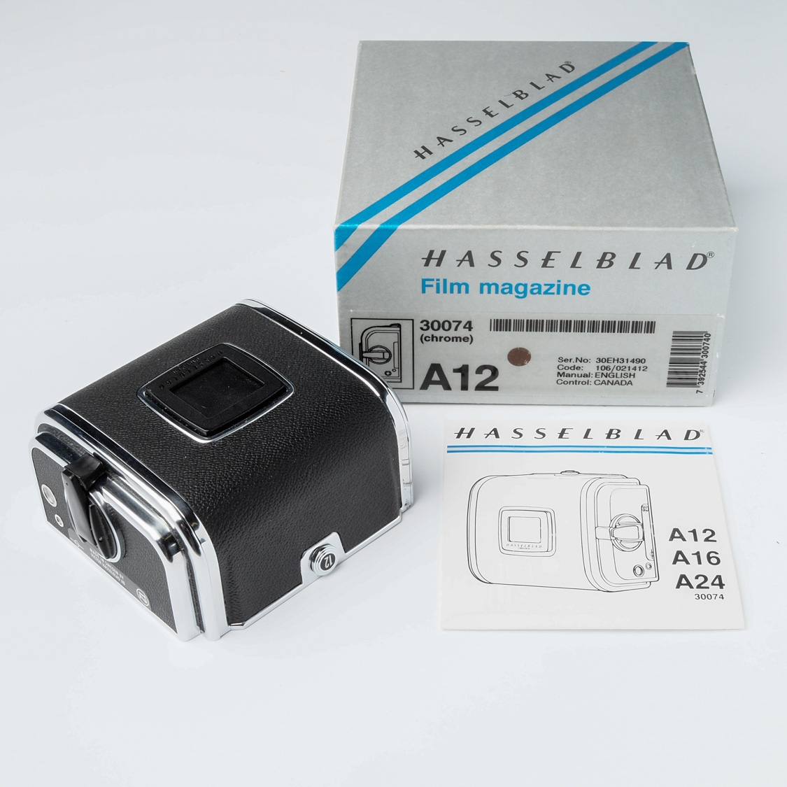 Used - Hasselblad A12 Back (TYPE III)(LN-)