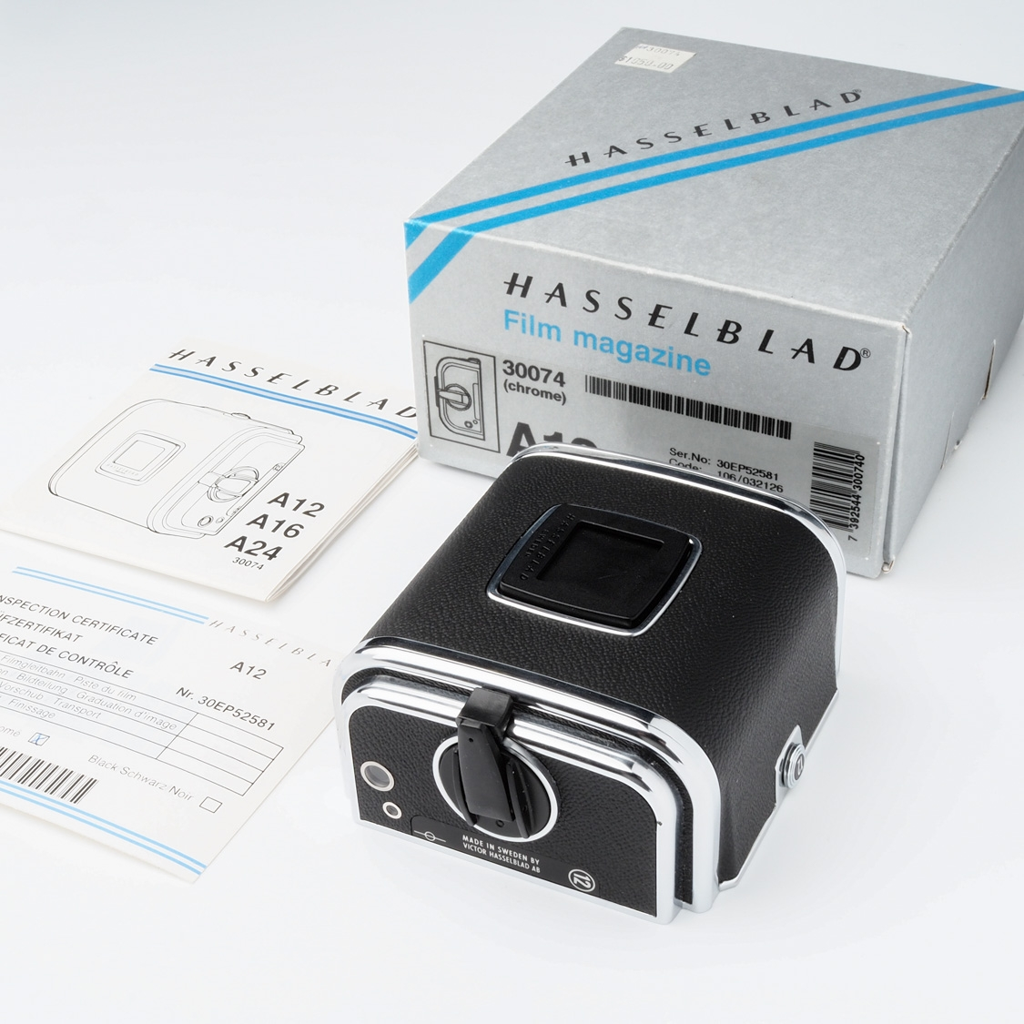 Used - Hasselblad A12 Back (III)(LN-)