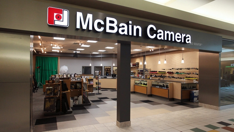 McBain Camera St. Albert Centre Mall