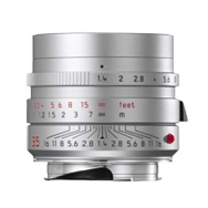 Leica Summilux-M 35mm F1.4 ASPH Lens (silver anodized)