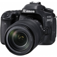 Canon EOS 80D DSLR with 18-135mm IS USM Lens - Open Box