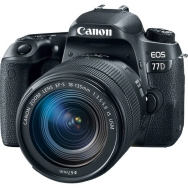 Canon EOS 77D DSLR with 18-135mm IS USM Lens -Open Box