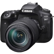 Canon EOS 90D DSLR and 18-135mm IS USM Lens