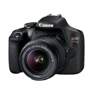 Canon Rebel T7 DSLR with 18-55mm IS II Lens