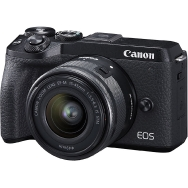 Canon EOS M6 Mark II with 15-45mm Lens and EVF