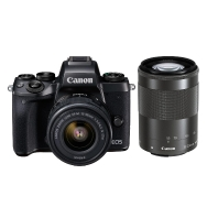 Canon M5 Camera with EF-M 15-45mm and EF-M 55-200mm Lenses