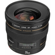 Canon EF 20mm F2.8 USM Lens - Open Box