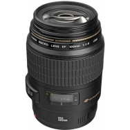Canon EF 100mm f2.8 USM Macro Lens - Open Box