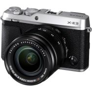 Fujifilm X-E3 with 18-55mm f2.8-4.0 Lens (silver) - Open Box