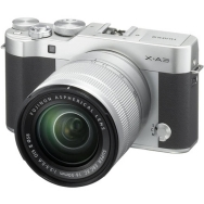 Fuji X-A3 Camera (silver) with 16-50mm XC OIS II Lens - Open Box