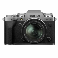 Fujifilm X-T4 Camera (silver) with 18-55mm f2.8-4.0 Lens