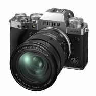 Fujifilm X-T4 Camera (silver) with 16-80mm f4.0 Lens
