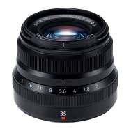 Fuji XF 35mm F2.0 R WR Lens (black)