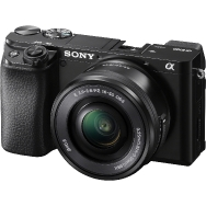 Sony A6100 Camera with 16-50mm and 55-210mm Lenses