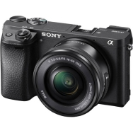 Sony A6300 Camera with 16-50mm Lens (black) - Open Box