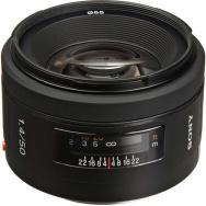 Sony 50mm F1.4 Lens - Open Box