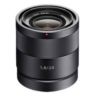 Sony E Carl Zeiss 24mm F1.8 Lens
