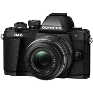 Olympus OM-D E-M10 Mark II with 14-42mm II R Lens (black) - Open Box