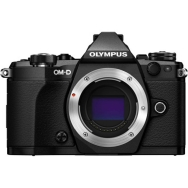 Open Box Olympus OM-D E-M5 Mark II Camera Body (black)
