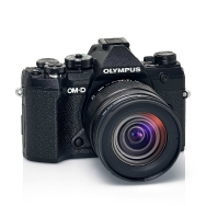 Olympus E-M5 Mark III (black) with 12-45mm Pro Lens