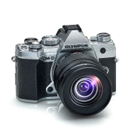 Olympus E-M5 Mark III (silver) with 12-45mm Pro Lens