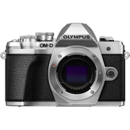 Olympus E-M10 Mark III Camera Body (silver) - Open Box