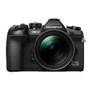 Olympus E-M1 Mark III (black) with 12-40mm f2.8 Pro Lens