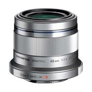 Olympus PEN MSC 45mm F1.8 Lens (silver)