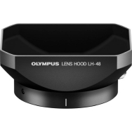 Olympus LH-48 Black Lens Hood for Olympus 12mm F2.0