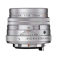 Pentax FA 77mm F1.8 LE Lens (black)