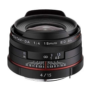 Pentax HD DA 15mm F4.0 ED AL Limited Lens