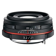 Pentax DA 21mm F3.2 AL HD Limited Lens