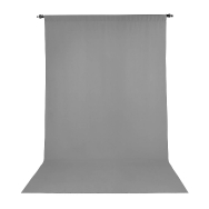 Promaster 10x20 ft Grey Wrinkle Resistant Back Drop
