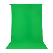 Promaster 10x20 ft Chroma Key Green Wrinkle Resistant Back Drop