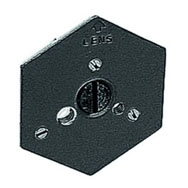 Manfrotto 130-14 Hex Plate with 1/4-inch Screw