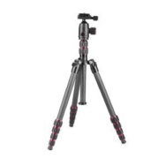 Optex Black 5-Section Carbon Fibre Inverting Tripod with Ballhead
