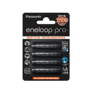 Panasonic Eneloop Pro and 4x AA 2550mah Batteries