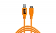 Tether Tools Tetherpro USB 3.0 To Micro-B 15 (4.6m) High Visibility Orange