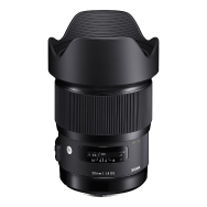 Sigma 20mm f1.4 DG HSM Art Lens for Canon EF Mount