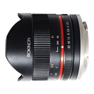 Rokinon 8mm F2.8 II Lens (black) for Sony E-mount