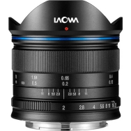 Laowa 7.5mm f/2 Lens for Micro 4/3 Standard (Black)