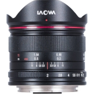 Laowa 7.5mm f/2 MFT Lens for Micro 4/3 Ultra Light (Black)