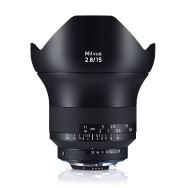 Zeiss Milvus 15mm F2.8 ZF.2 Lens for Nikon F Mount